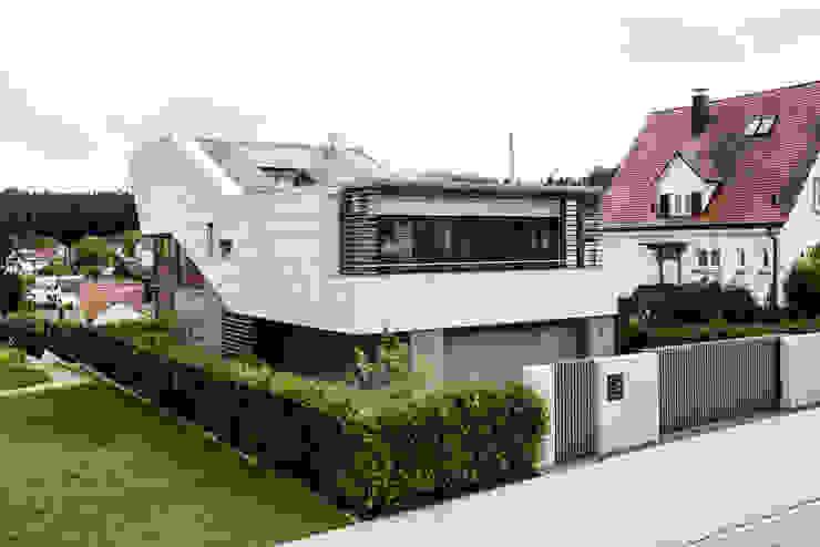 Projekty,  Domy zaprojektowane przez Kohlbecker Gesamtplan GmbH, Nowoczesny
