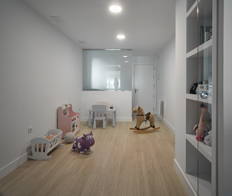 Dormitorio Dormitorios de estilo moderno de CM4 Arquitectos Moderno
