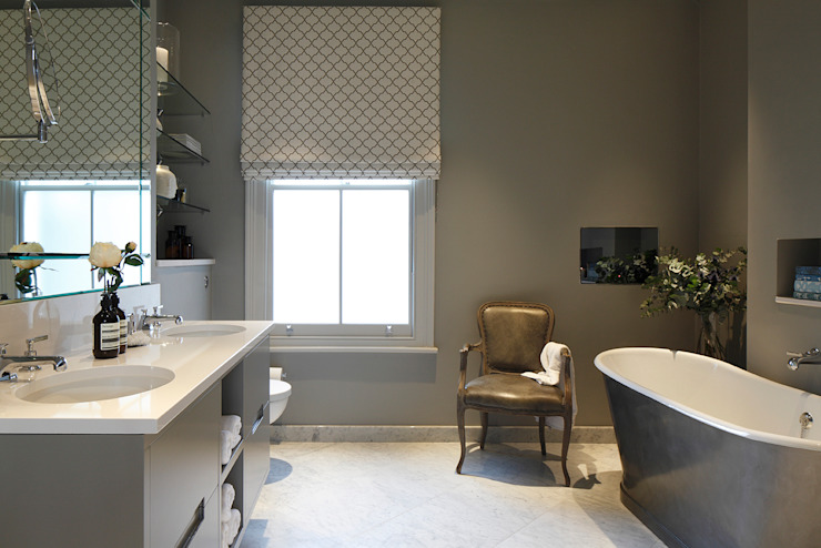 Master Bedroom Ensuite Classic style bathrooms by Laura Sole Interiors Classic