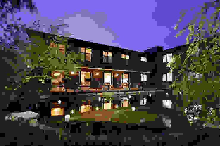 夜景 秦造園 オリジナルな 庭