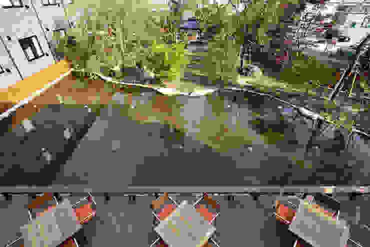 全景 オリジナルな 庭 の 秦造園 オリジナル
