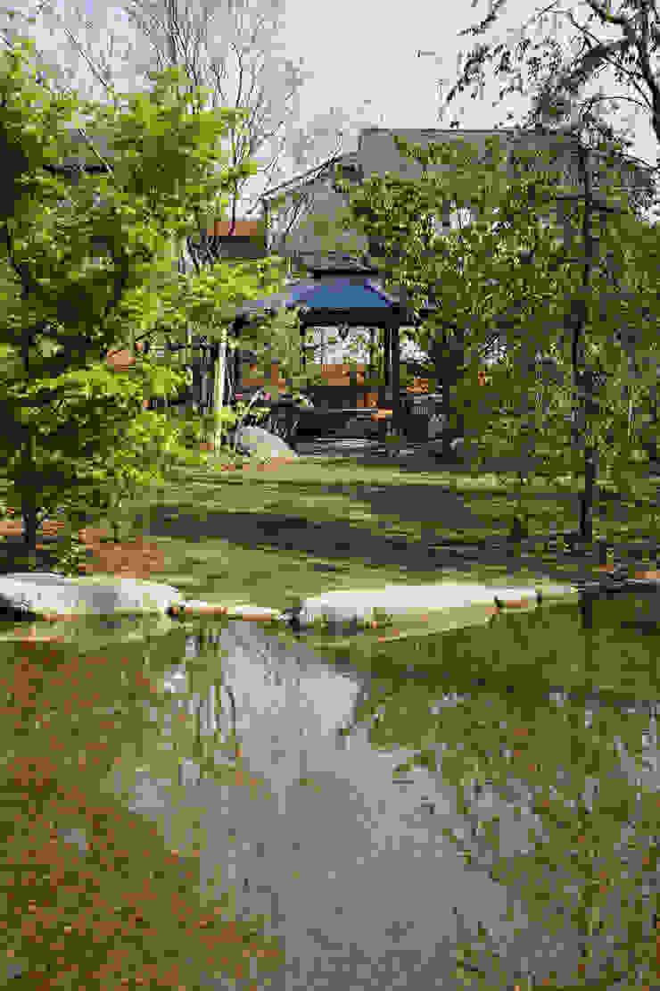 ガゼボ 秦造園 オリジナルな 庭