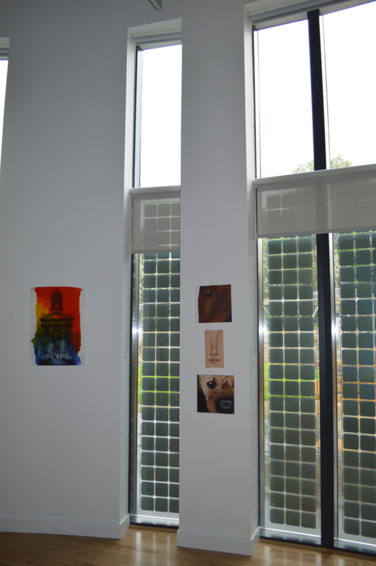 Building Integrated Photovoltaics (BIPV) providing shade inside ArchitectureLIVE Schools