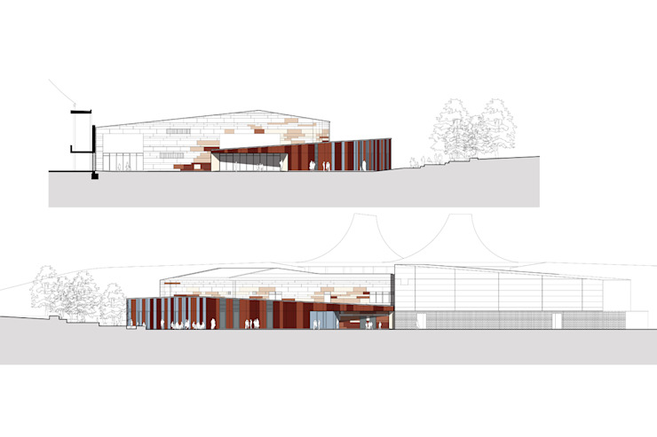 Artist Impressions of School Extension ArchitectureLIVE