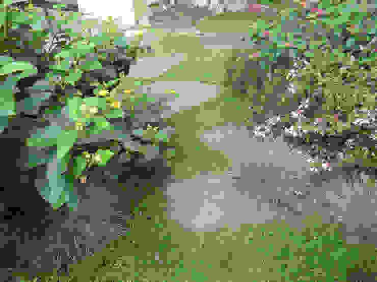 Rincón en el jardín Jardines de estilo mediterráneo de LANDSHAFT Mediterráneo