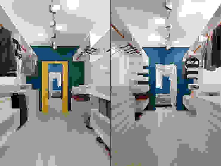 Квартира в стиле Энди Уорхола Гардеробная в эклектичном стиле от Студия дизайна интерьера Маши Марченко Эклектичный