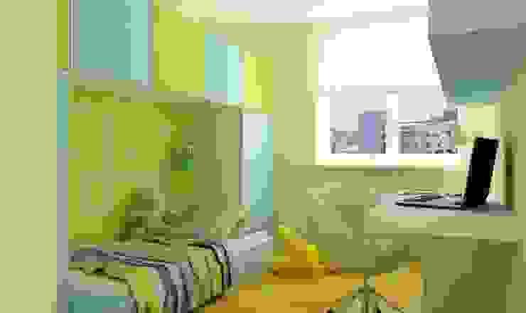 Studio architektoniczne Premiere Design Warszawa Dormitorios infantiles de estilo moderno