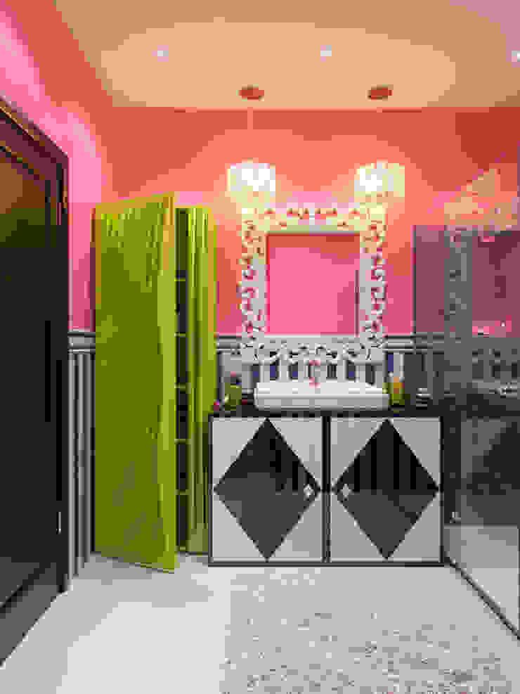 Квартира в стиле Энди Уорхола Ванная комната в эклектичном стиле от Студия дизайна интерьера Маши Марченко Эклектичный