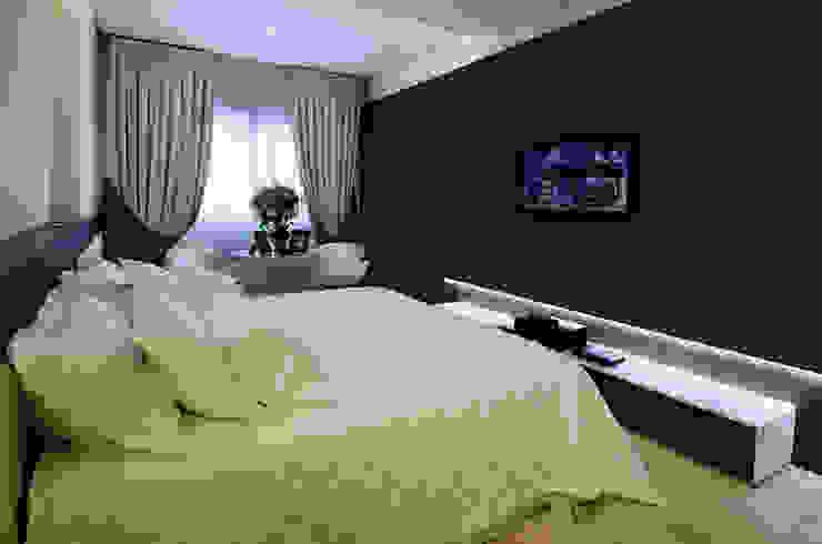 غرفة نوم تنفيذ Canisio Beeck Arquiteto