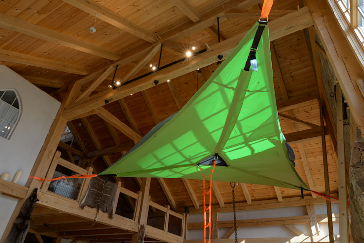 Modern meets Traditional Tentsile Garden Swings & play sets
