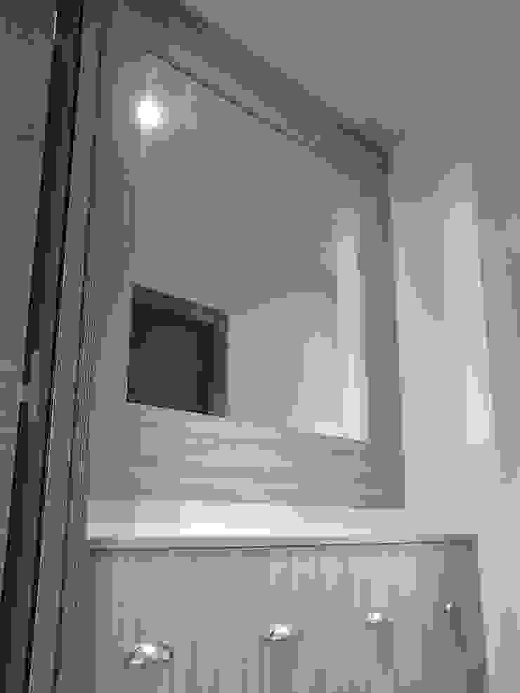 Cubretubos con Espejo de SQ-Decoración Moderno