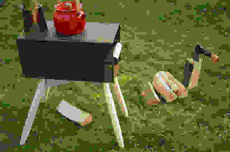 Houtkachel Hotdog van Maandag meubels Scandinavisch