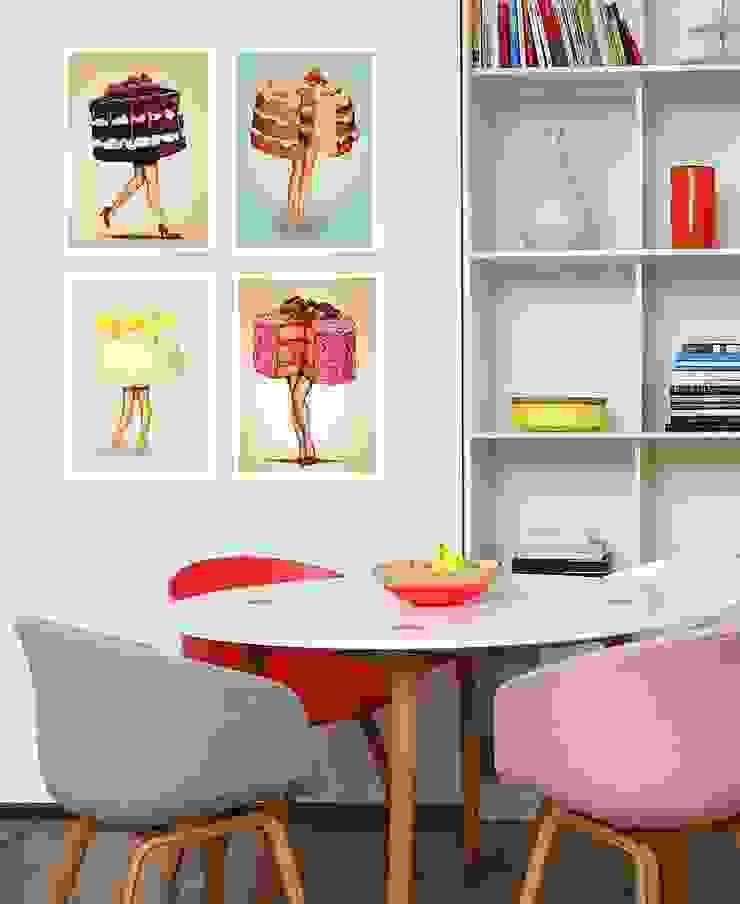 Salle à manger moderne par JUNIQE Moderne