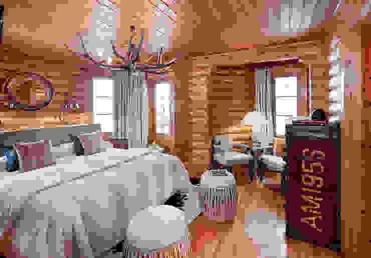 Hoteles de estilo alpino Hoteles de estilo escandinavo de Estudio de arquitectura Jesús del Valle Escandinavo