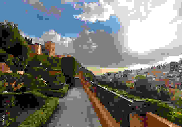 Hotel Carmen de los Chapiteles *** Hoteles de estilo mediterráneo de Estudio de arquitectura Jesús del Valle Mediterráneo