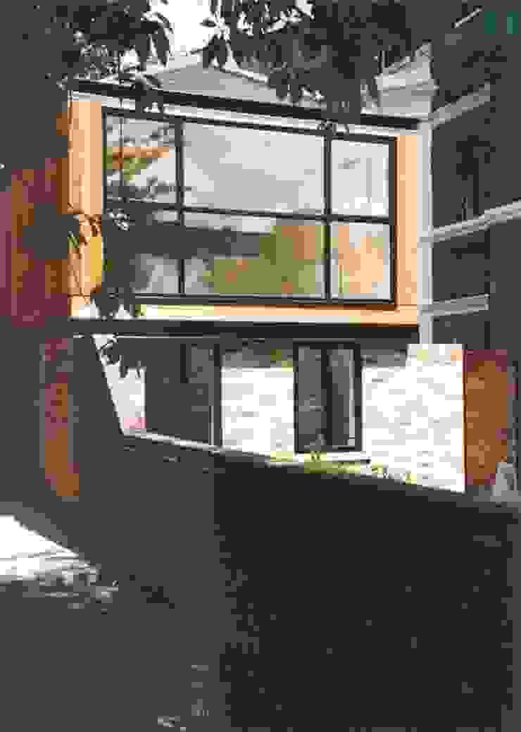 View from next door Giles Jollands Architect Modern Houses