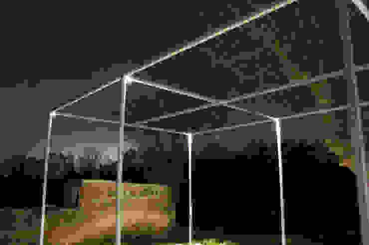 Balcon, Veranda & Terrasse minimalistes par Antonio D'aprile Architetto Minimaliste