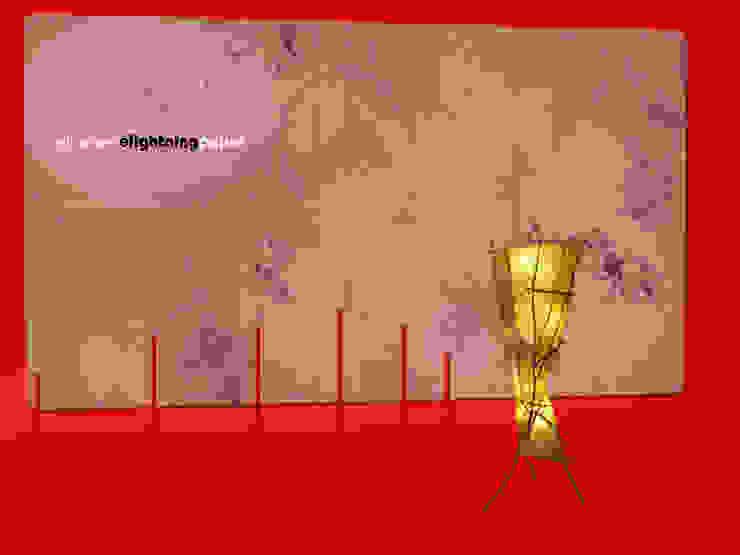 Lichtsculptuur Omber van Elly Pingen Ecodesign Aziatisch