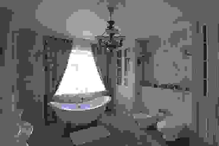 Коттедж в п. Шувакиш Ванная в классическом стиле от Архитектурно-дизайнерская студия 'Арт Диалог' Классический