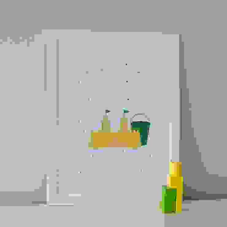 S is for Sandcastle :: Personalised Print Hope & Rainbows Nursery/kid's roomAccessories & decoration