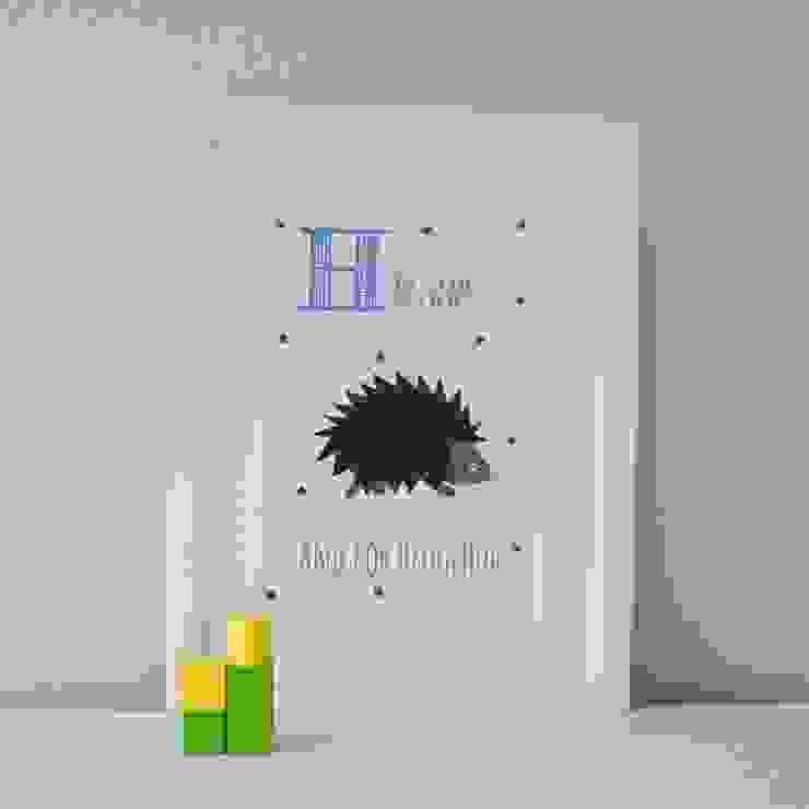 H is for Hedgehog :: Personalised Prints Hope & Rainbows Nursery/kid's roomAccessories & decoration
