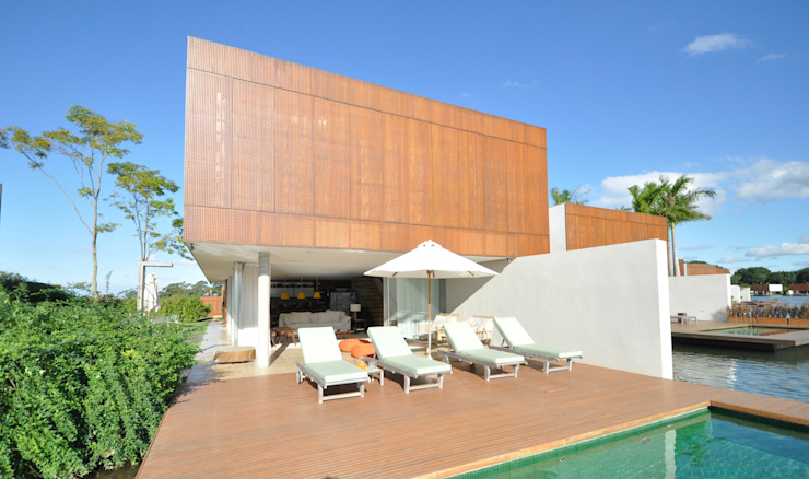 Houses by 2L Arquitetura, Modern