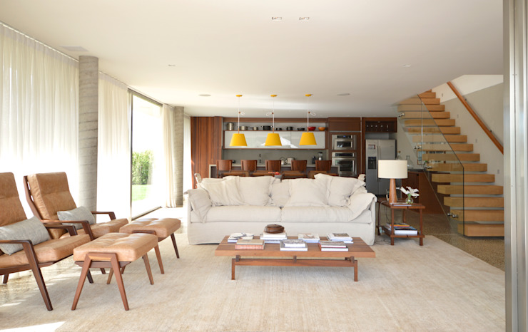 Living room by 2L Arquitetura, Modern