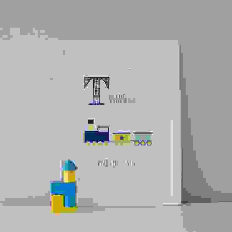 T is for Train :: Personalised Print Hope & Rainbows Nursery/kid's roomAccessories & decoration