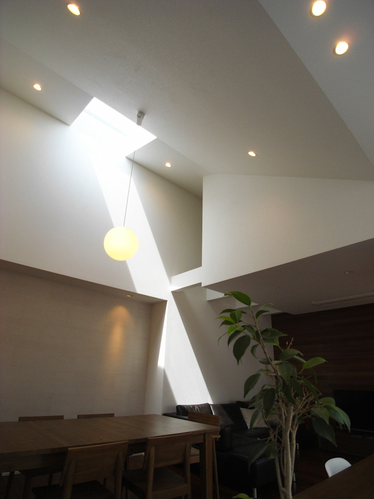 HOUSE M・Y モダンデザインの リビング の nagena モダン