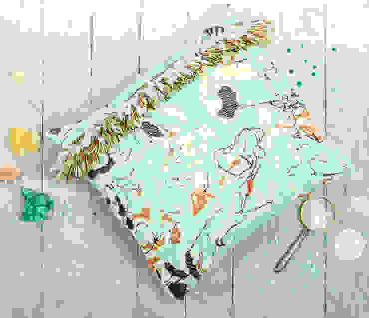 Fringe N°1 - Fun Green van Roos Soetekouw Design Eclectisch