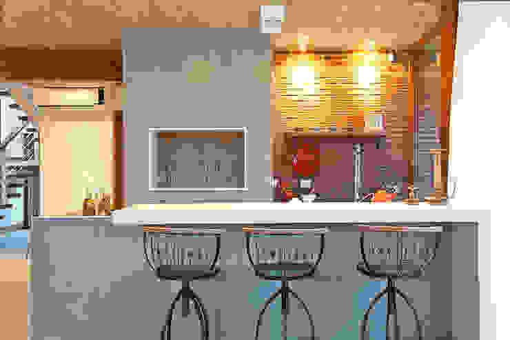 Comedores de estilo  por Seferin Arquitetura, Moderno