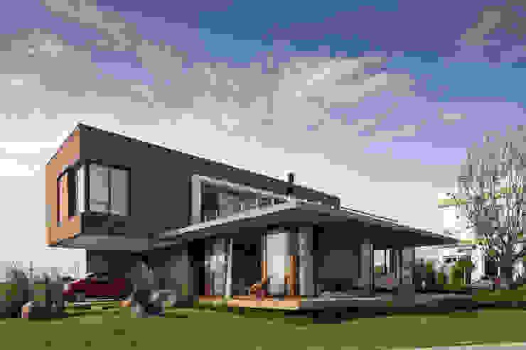 Casa Marítimo Casas modernas por Seferin Arquitetura Moderno