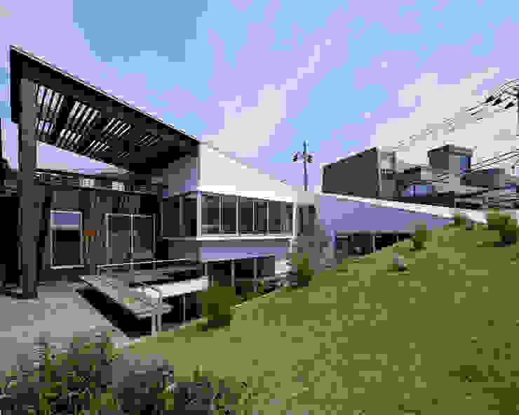 Spiral roof 工藤宏仁建築設計事務所 Terrace