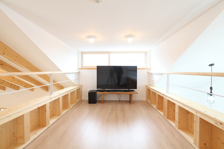 Salones modernos de 주택설계전문 디자인그룹 홈스타일토토 Moderno