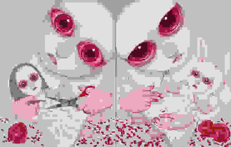 paintings- A Portrait of Pain-Ridden Human Existence: ByungheeSung의 현대 ,모던