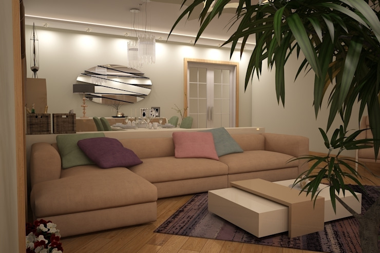 Sonmez Mobilya Avantgarde Boutique Modoko Ruang Keluarga Minimalis