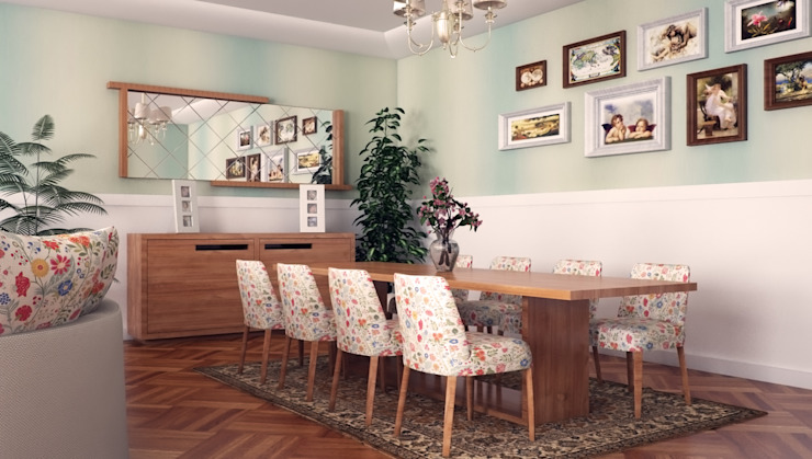 Salas de jantar  por Sonmez Mobilya Avantgarde Boutique Modoko , Rústico