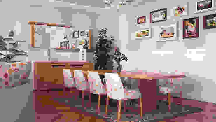 Rustic style dining room by Sonmez Mobilya Avantgarde Boutique Modoko Rustic