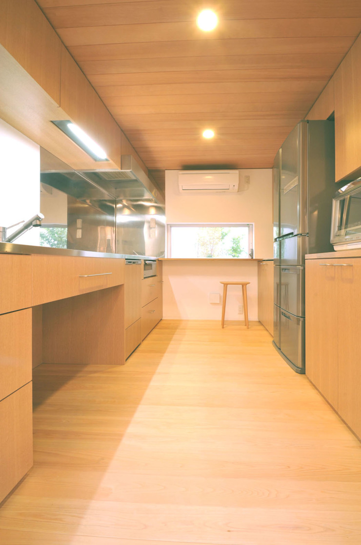 Tー邸 オリジナルデザインの キッチン の 田村淳建築設計事務所 オリジナル