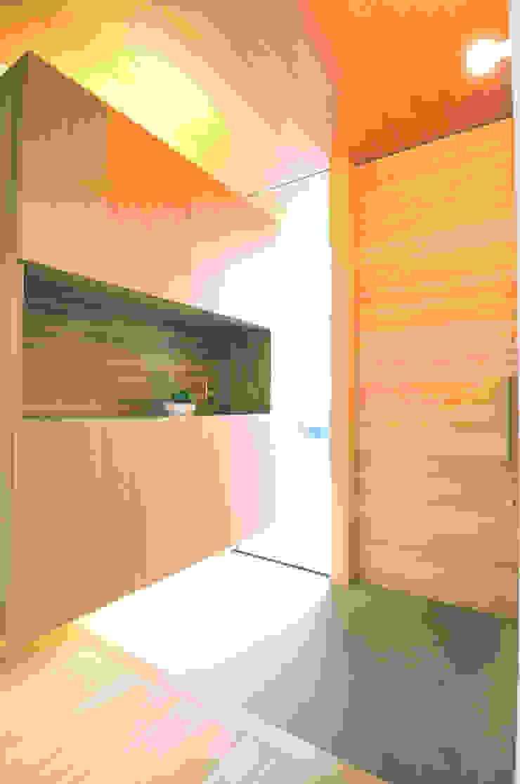 Tー邸 オリジナルスタイルの 玄関&廊下&階段 の 田村淳建築設計事務所 オリジナル