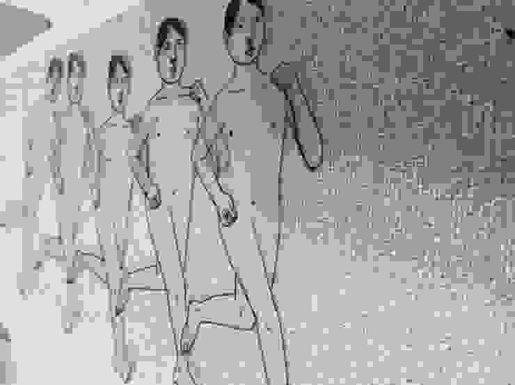 조민아-달아나기-디지털프린트-42x59.4cm-2015: CHO-MIN AH의 현대 ,모던