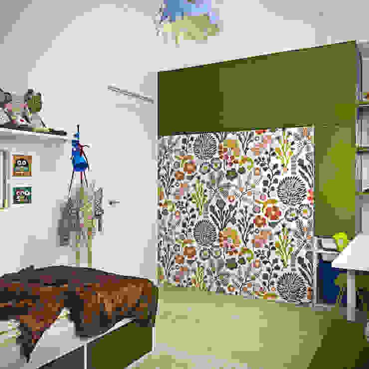дизайн квартиры 50м2 Детская комнатa в скандинавском стиле от sreda Скандинавский