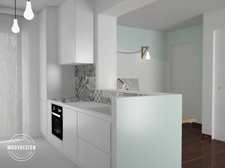 Kitchen by moovdesign, Minimalist