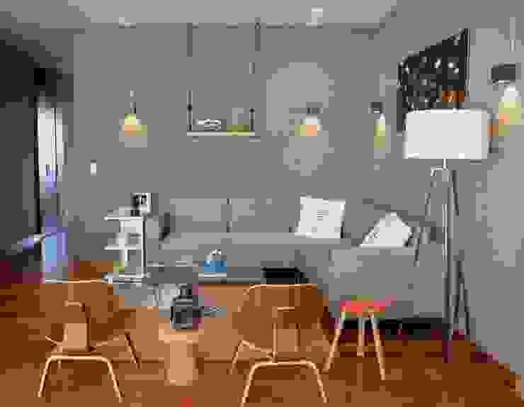 Sala Santa Fe, Hat Diseño: Salas de estilo  por Hat Diseño, Moderno