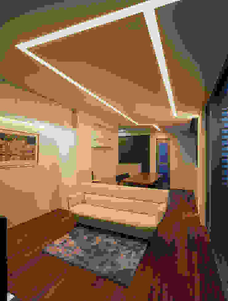 N9-house 「グリッドの家」: Architect Show Co.,Ltdが手掛けたアジア人です。,和風