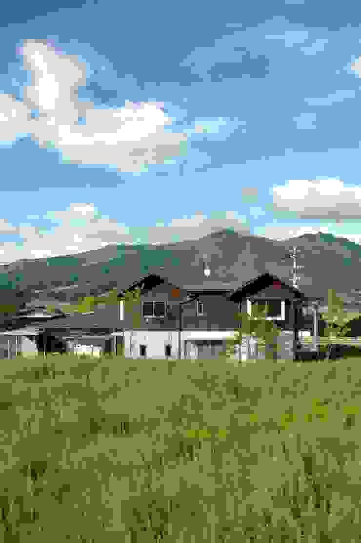 南外観 オリジナルな 家 の ばん設計小材事務所 オリジナル