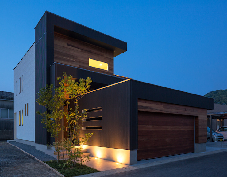 Maisons de style  par Architect Show Co.,Ltd, Moderne