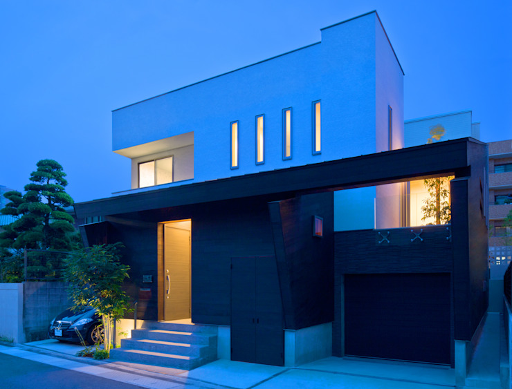 U3-house 「回廊の家」: Architect Show Co.,Ltdが手掛けた現代のです。,モダン
