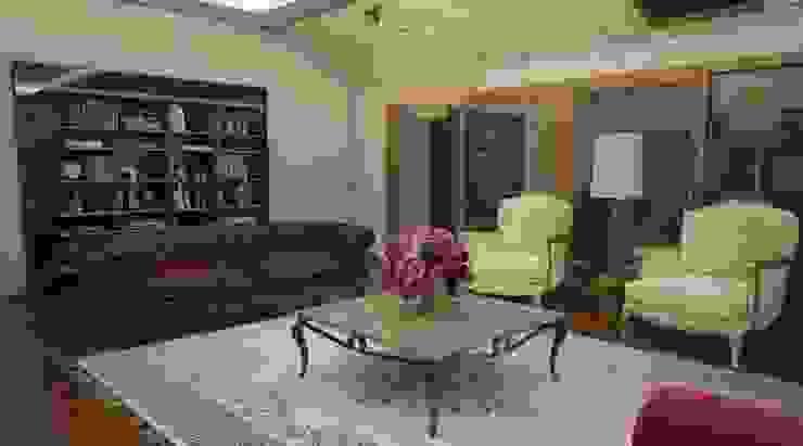 Domiklasik Salon Projesi / Özel Minimalist Oturma Odası Sonmez Mobilya Avantgarde Boutique Modoko Minimalist