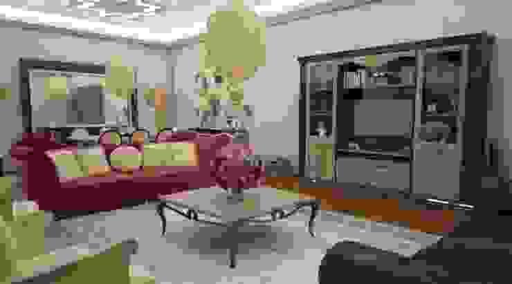Domiklasik Salon Projesi / Özel Klasik Oturma Odası Sonmez Mobilya Avantgarde Boutique Modoko Klasik